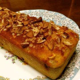 小麦粉不要!超簡単おからのパウンドケーキ