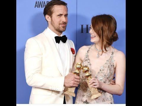 ====================================== please like share and subscribe my videos https://www.youtube.com/channel/UC8Egdoi7dobE_jThMeOnxSg?sub_confirmation=1  There was only one belle of the ball at the 2017 Golden Globes and it's clearly Emma Stone.  The 28-year-old actress charmed everyone while taking home the Best Actress in a Musical or Comedy award for her performance in La La Land and also looked like she was having the best time out of everyone in the room. Let's relive the top 11…