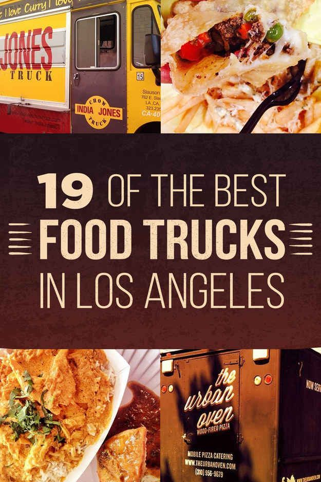19 Of The Best Food Trucks In Los Angeles