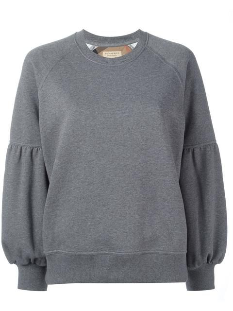 Shop Burberry crew neck sweatshirt in Monti from the world's best independent boutiques at farfetch.com. Shop 400 boutiques at one address.