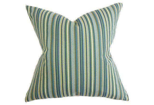 Dexter 18x18 Pillow, Indigo