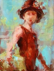 With Panache by Donna MacDonald Oil ~ 16 x 12