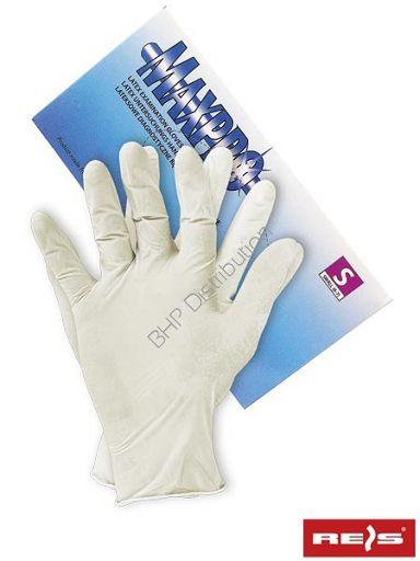 Lateksowe rękawice ochronne RALATEX