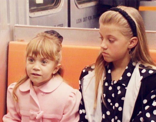Mary-Kate Olsen & Jodie Sweetin on Full House season 6