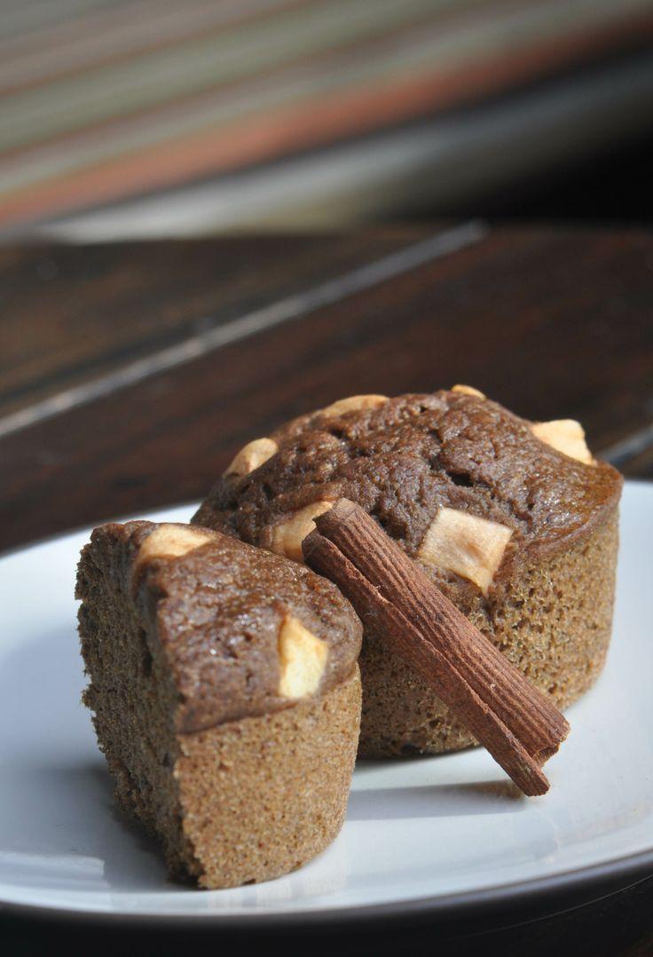 Nutrisegar healthy snacks,Apple  Cinnamon Muffin, Jakarta, Cemilan sehat, makanan sehat