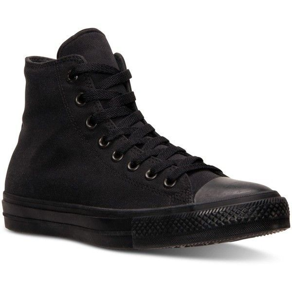 176fe41e038045 Converse Men s Chuck Taylor All Star Ii Hi Mono Casual Sneakers from... (