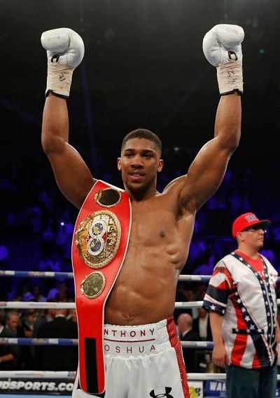 News as Nigerian-born Anthony Joshua Retains IBF Heavyweight Title in  Another Knock Out Win