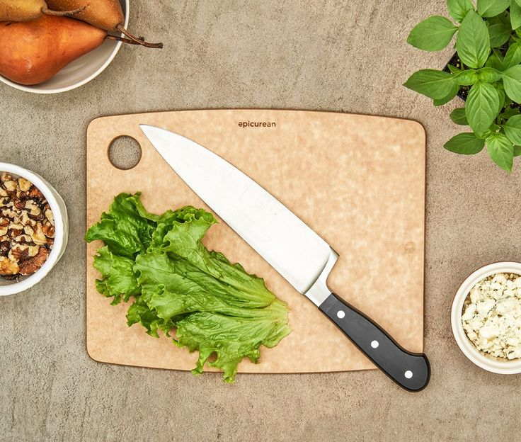 Amazon.com: Epicurean Kitchen Series Cutting Board, 17.5-Inch by 13-Inch, Natural: Epicurean Cutting Board Large Natural: Kitchen & Dining