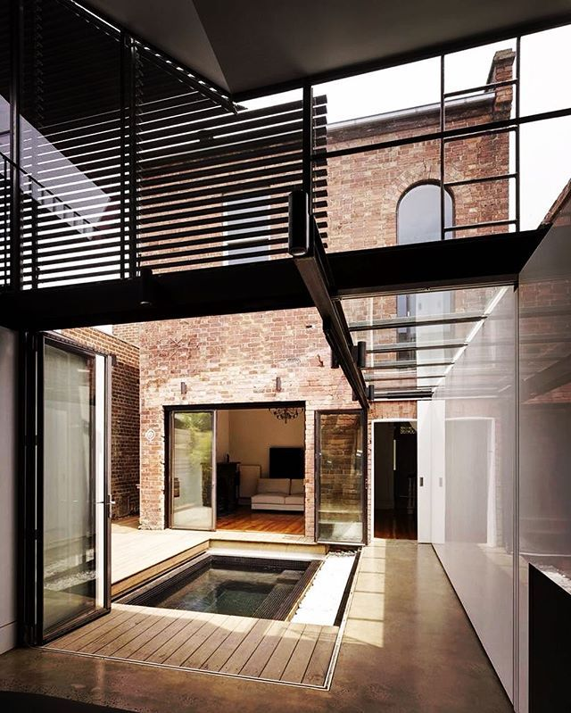 Love the industrial vibe of the Vader House!! Project by: Andrew Maynard Architect Image via: @archdaily #homedesign #lifestyle #style #designporn #interiors #decorating #interiordesign #interiordecor #architecture #landscapedesign