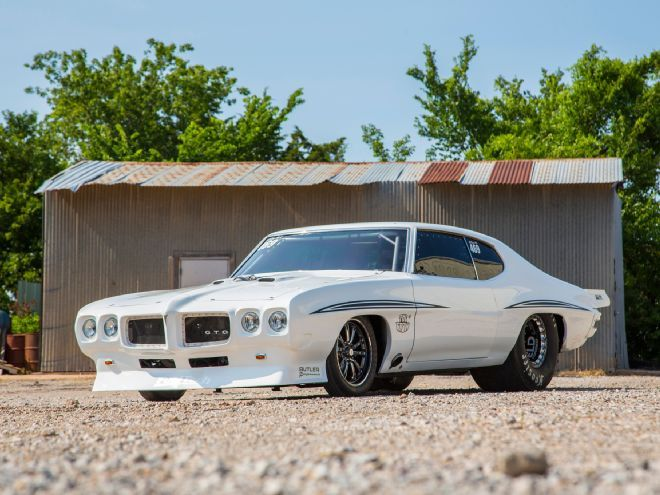 Exclusive Photos of The Crow. Street Outlaw's Justin Shearer and his 1972 Pontiac LeMans