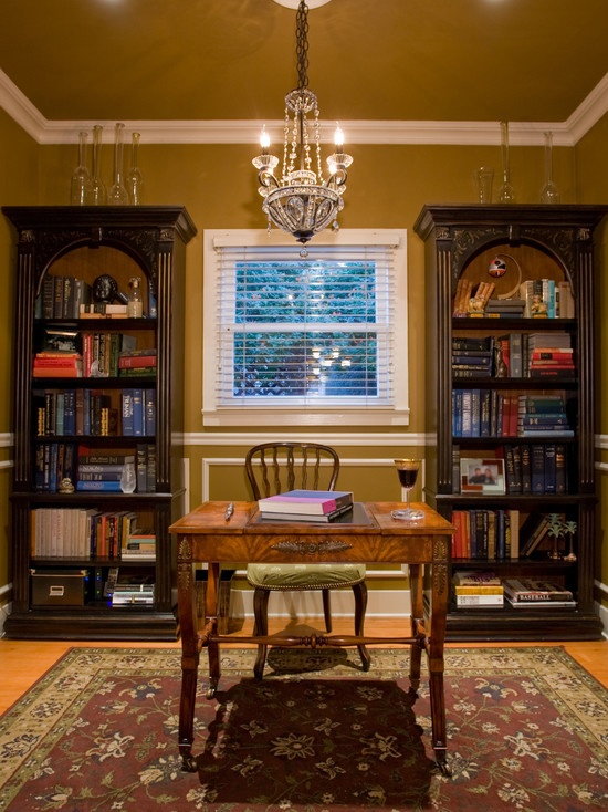 Es English Library Design Pictures Remodel Decor And Ideas Page 4 Room Pinterest Warm Color Schemes