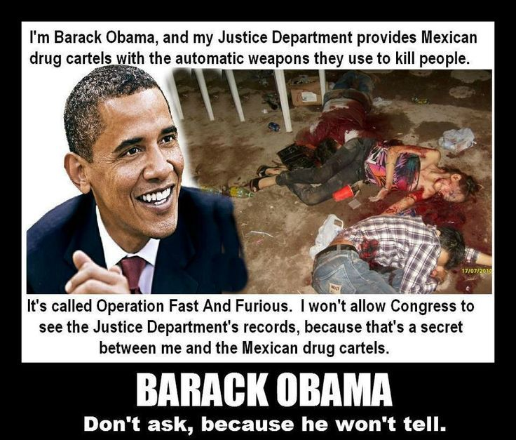 Fast And Furious News And Political Cartoons: Undeniable The US Allowed Truckloads Of Weapons To Pass To