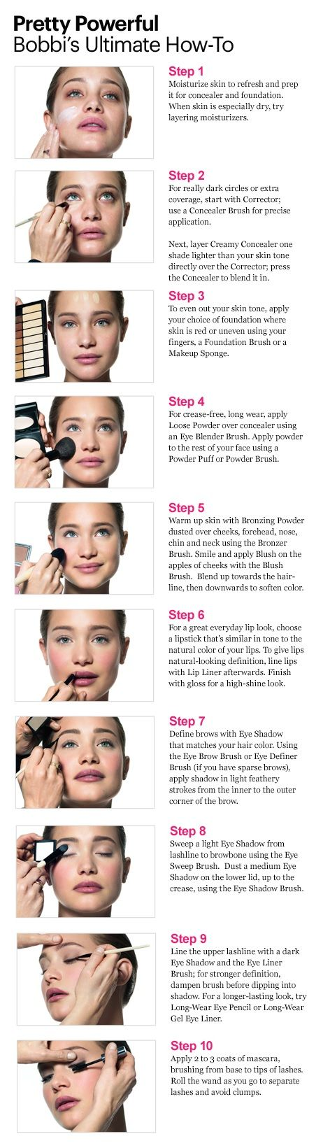 Bobbi's Make Up Lesson - Lesson 1 - Pretty Powerfull - Bobbi's Ultimate How-To