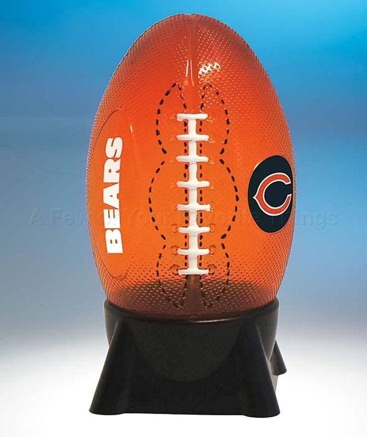 #Chicago #Bears #NFL Table Light Lamp #Football Bedroom Office Desk Den Home Decor from $22.87