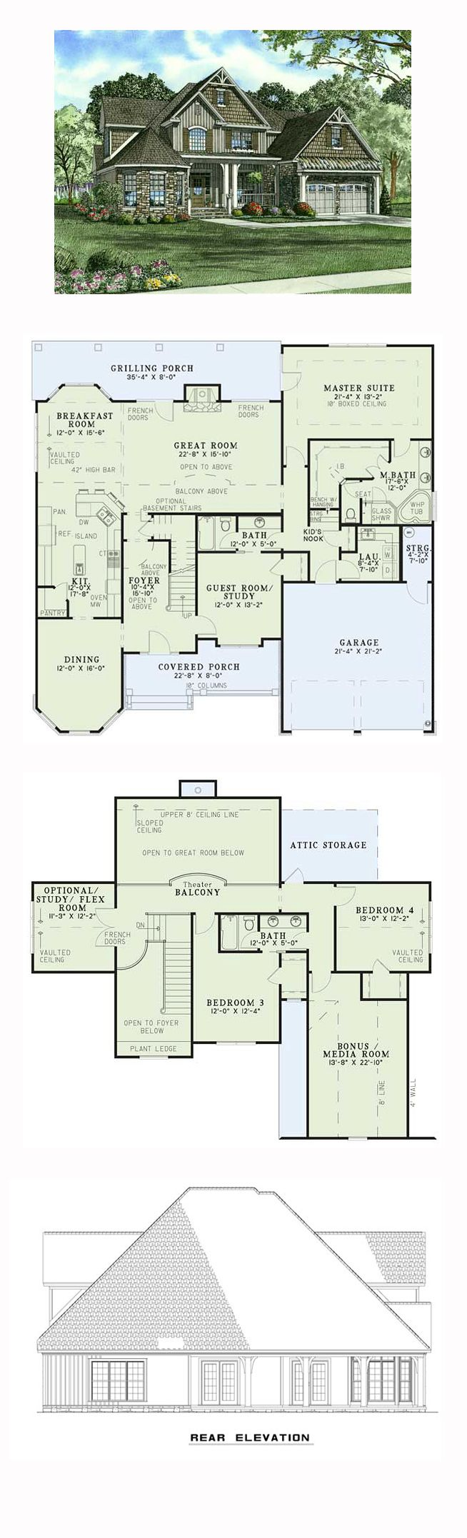 16 best images about craftsman house plans on pinterest for Coolhouseplan com