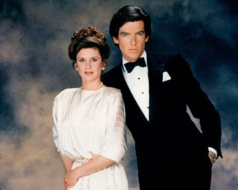 Pierce Brosnan and Stephanie Zimbalist- Remington Steele..