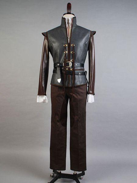 Once Upon A Time David Nolan Cosplay Costume Black Prince Costume