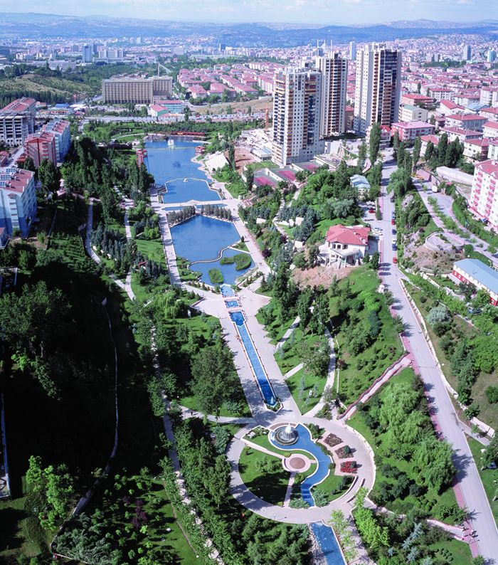 Ankara, the capital city of Turkey.
