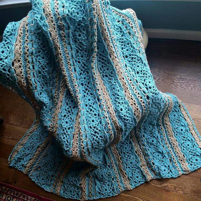 Irish Lace Crochet Afghan Pattern : 156 best images about crochet : blankets on Pinterest ...