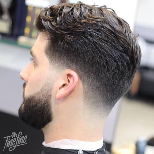 fade+haircut+for+thick+wavy+hair