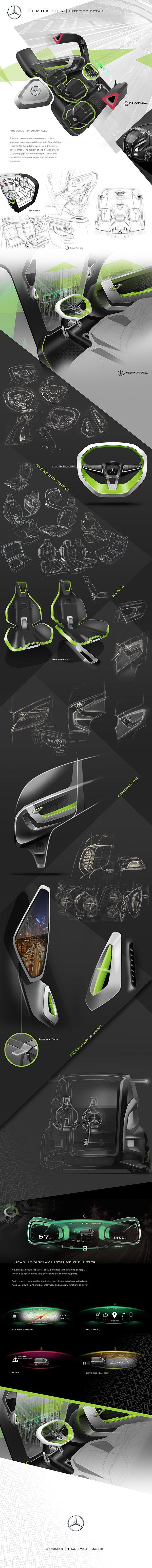 Mercedes-Benz Accelo Struktur Interior Design on Behance