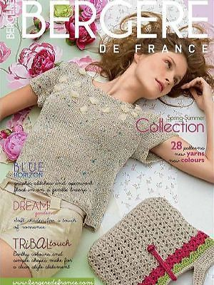 BERGERE DE FRANCE SPRING SUMMER COLLECTION KNITTING PATTERN MAGAZINE BOOK 172