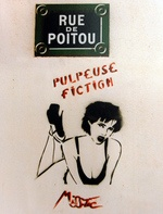 MISS TIC in Paris streets ....
