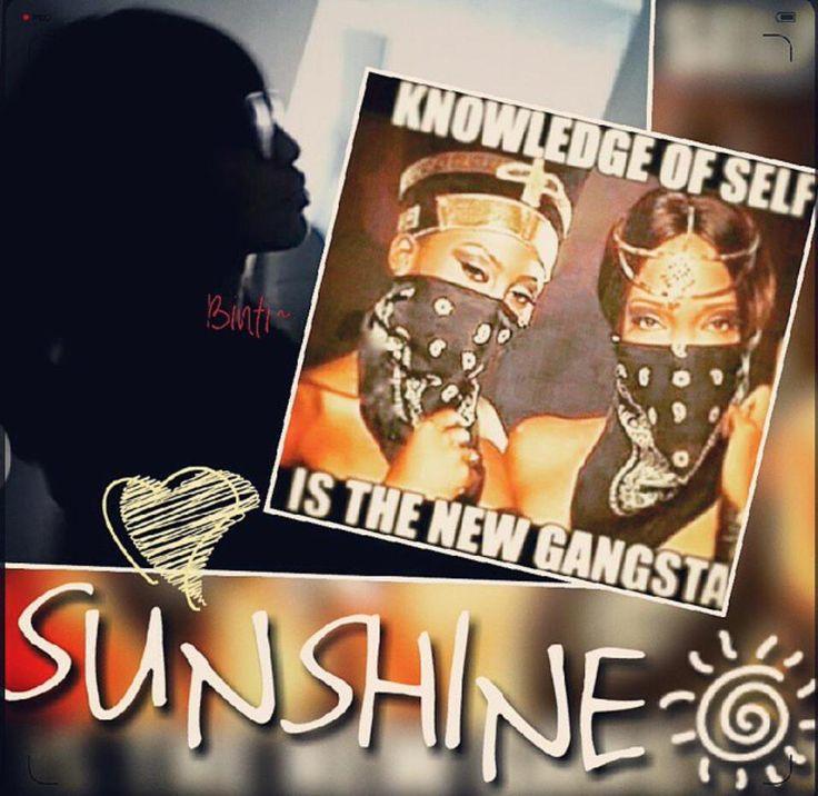 Binti Jua - knowledge of self is the new gangsta.