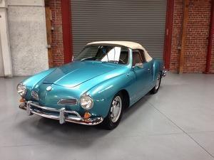 Blue Karmann Ghia