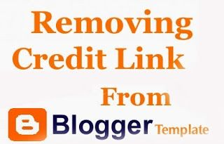 Today, In this article, we will teach you How to Remove Footer Credit Link from Blogger Template without Redirecting to Any Website.
