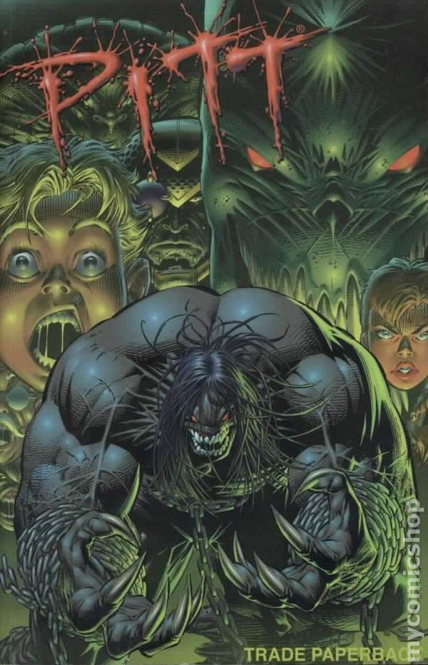 Dark Horse Comics Pitt | Pitt TPB (1996 Image) comic books