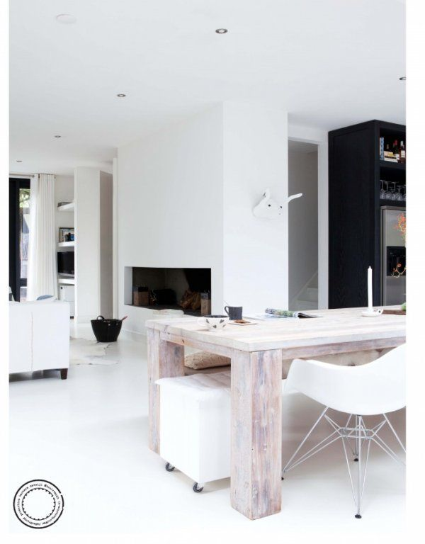 Vosgesparis: A white home in the Netherlands