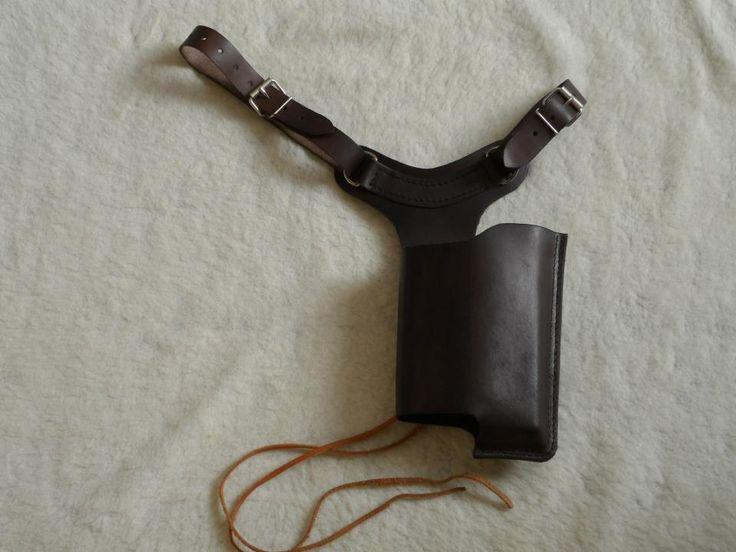 Simple leather maverick holster