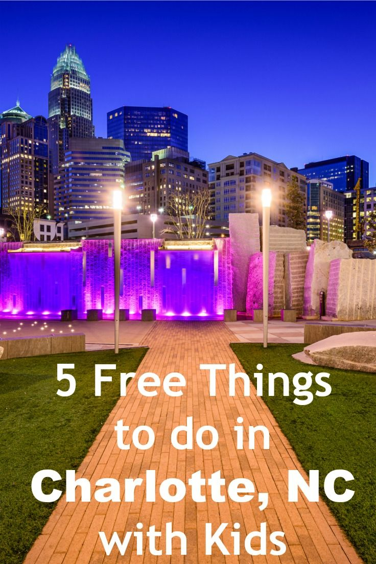 Things For Kids To Do In Charlotte 5 Free Things To Do In Charlotte Nc With Kids Hilton Mom Voyage