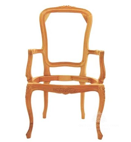 Traditional Louis Armchair  / French High Back Armchair / Dutch Connection