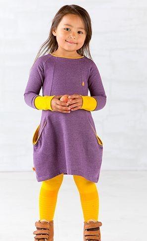 AlbaBabY Jurk Dicte purple - Stijlvolle kinderkleding uit Denemarken