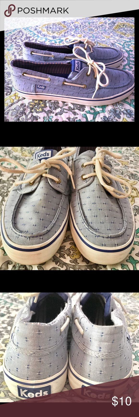 Keds Blue Boat Shoes Keds Blue Size 10 Good Condition Keds Shoes Flats & Loafers