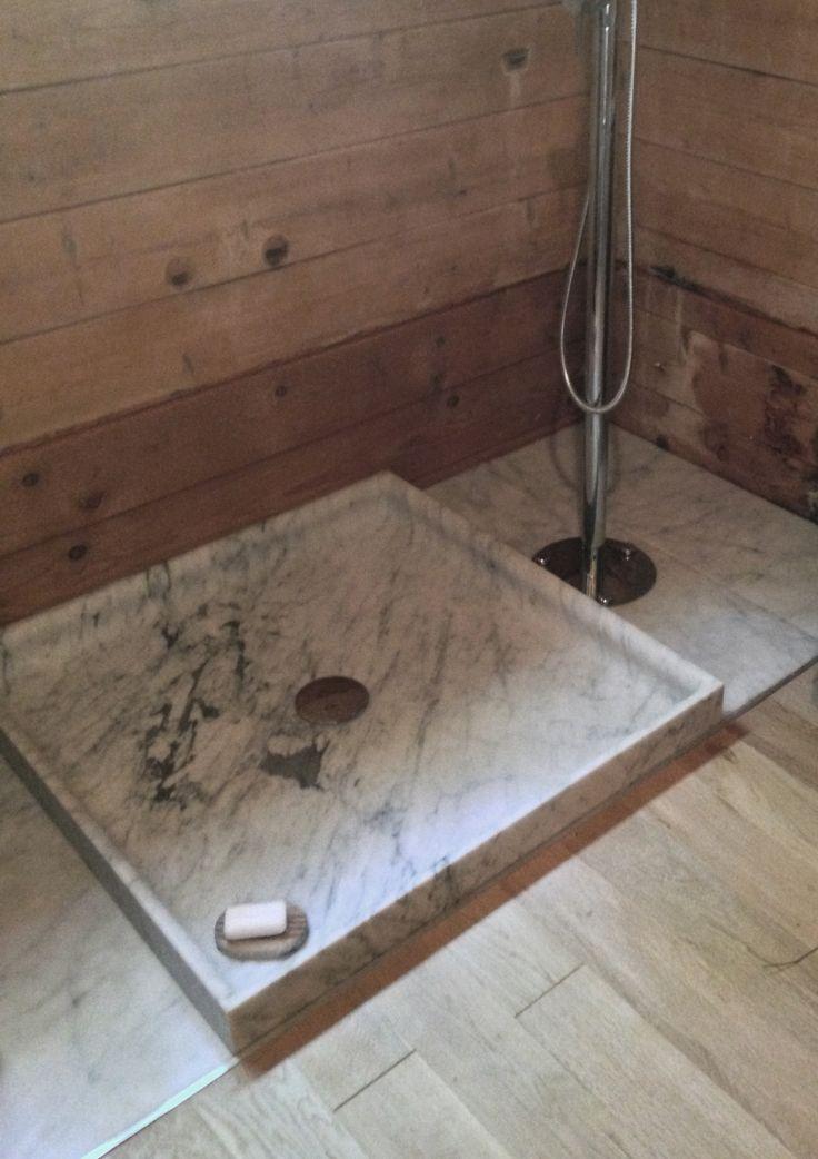 bespoke shower in carrare marble by marmo spirito