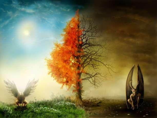 """Μια φορά κι έναν καιρό ήταν ένας ιερωμένος που έκρινε τις πράξεις των ανθρώπων & τους έβαζε να μετανοούν.Έφτασε να πιστεύει πως ξέρει τι είναι το καλό & το κακό. Ένα πρωί,εμφανίστηκε ένας άγγελος. """"Ο Θεός με έστειλε για να σου δείξω κάτι"""",του είπε.Τον πήρε & τον μετέφερε με θα"""