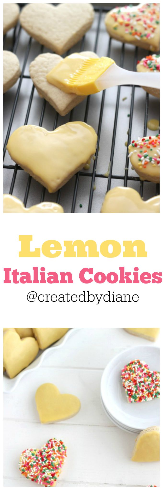Lemon cookies with lemon icing that everyone will want to get their hands on. Lemon sugar cookies