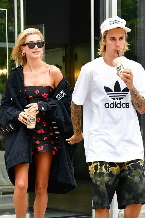 9aa45ef7e469d Hailey Baldwin and Justin Bieber s Relationship in Photos From their first  time meeting to their engagement.