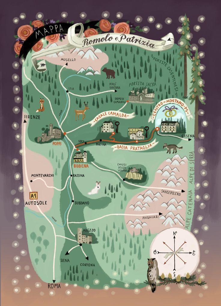 Map for the wedding from  http://www.shhhmydarling.com/2014/07/romolo-patrizia-july-9th-2014-roma.html