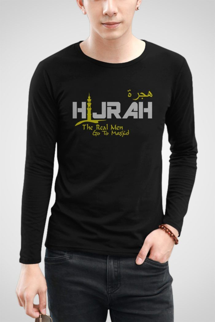 Kaos Hijrah Custom T-shirt Sablon Polyflex