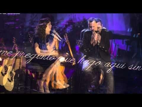 Pepe Aguilar feat. Natalia Lafourcade - Miedo - Letra ( Unplugged ) - YouTube
