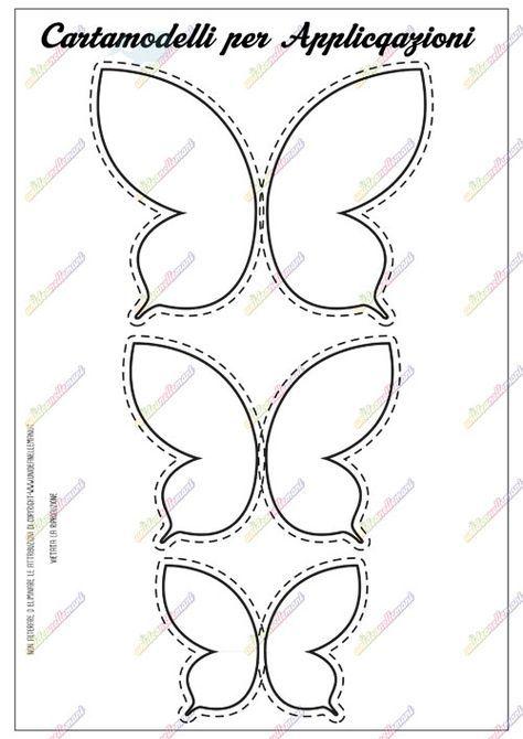 cartamodelli farfalla, cartamodelli farfalla gratis, cartamodelli farfalla di stoffa, cartamodelli farfalla pannolenci, sagoma farfalla,