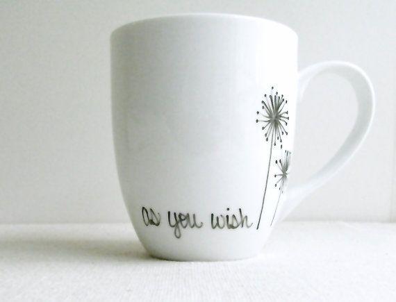 Coffee Mug As You Wish Mug The Princess Bride by RevellHouse, $13.00