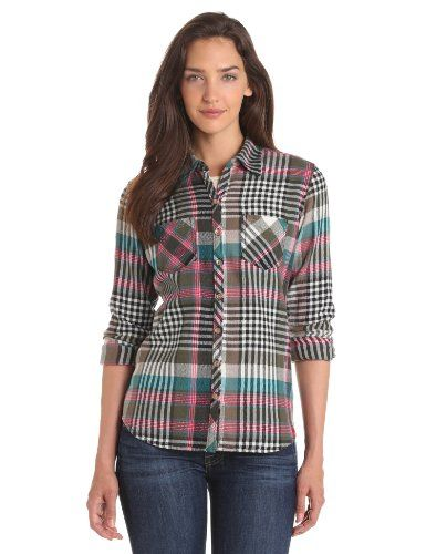 16 best women 39 s plaid blouse images on pinterest chess for Womens christmas flannel shirt