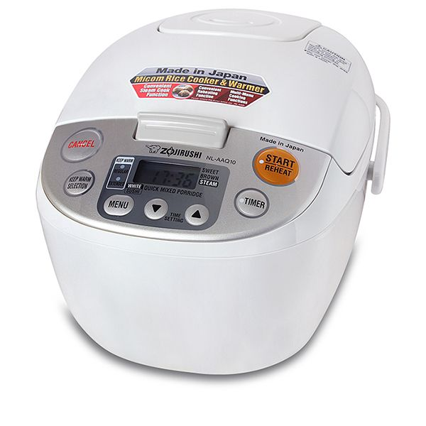 220 240v 50hz With 3 Pin Uk Plug 5 Cup Capacity Of Uncooked Rice Enough For 1 5 People White Sushi Porridge Sweet And Brown Rice Cooker Zojirushi Cooker