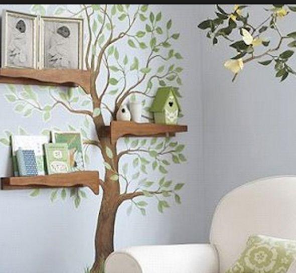 Aprenda como pintar uma árvore em uma parede na sua casa, para deixar o ambiente cheio de vida e muito mais elegante e sofisticado. São 21 modelos para tirar idéias.