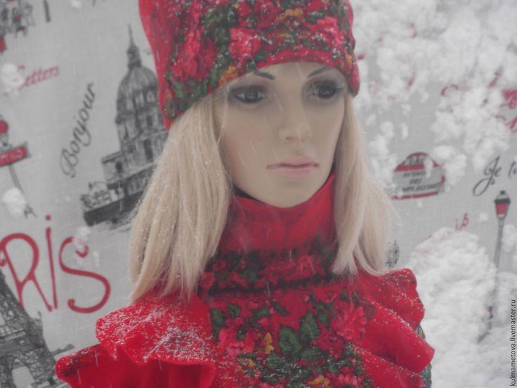 Комплект валяный Красная зима  на ЯМ